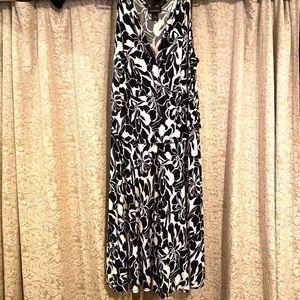 Lane Bryant drop-hem summer dress in 14/16